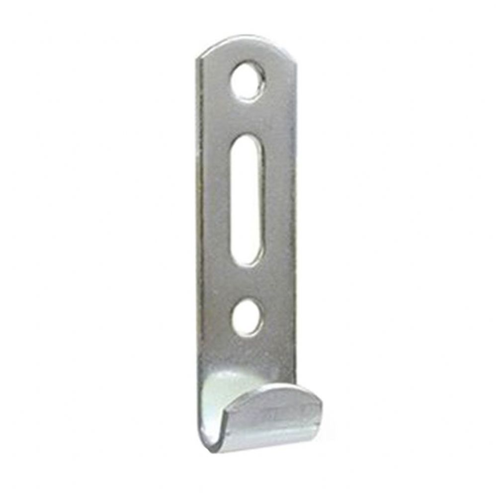 Slotted Wall Hook - Nickel Plated
